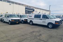 Verizon Switches New York Van Fleet to Hybrid Electric