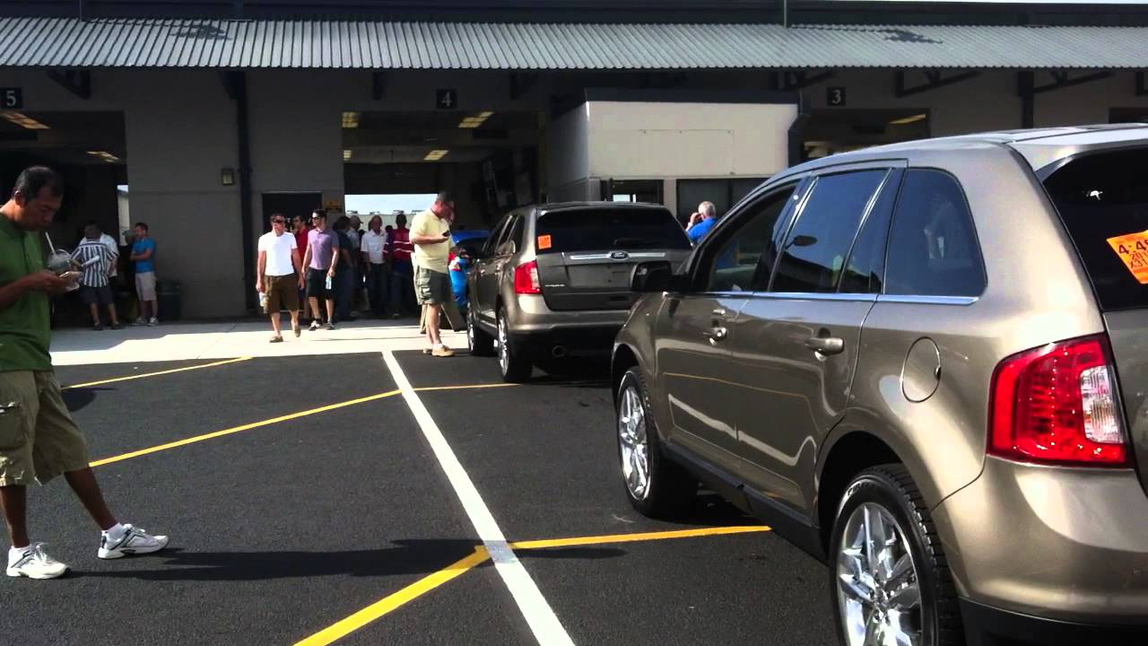 Houston-Area Auto Auctions Get Back to Business