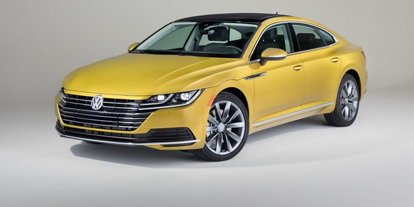 Photo of 2019 Arteon courtesy of Volkswagen.