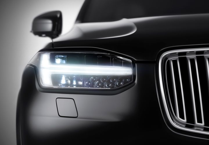 Volvo Releases First XC90 Exterior Photo, Details Platform