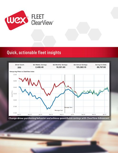 WEX Adds Driver Messaging to ClearView Platform