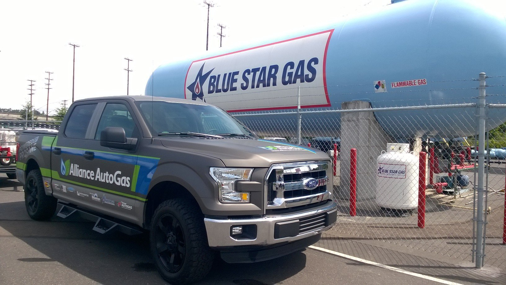Propane Autogas Ford F-150 Hits Northwest in Coast-to-Coast Tour