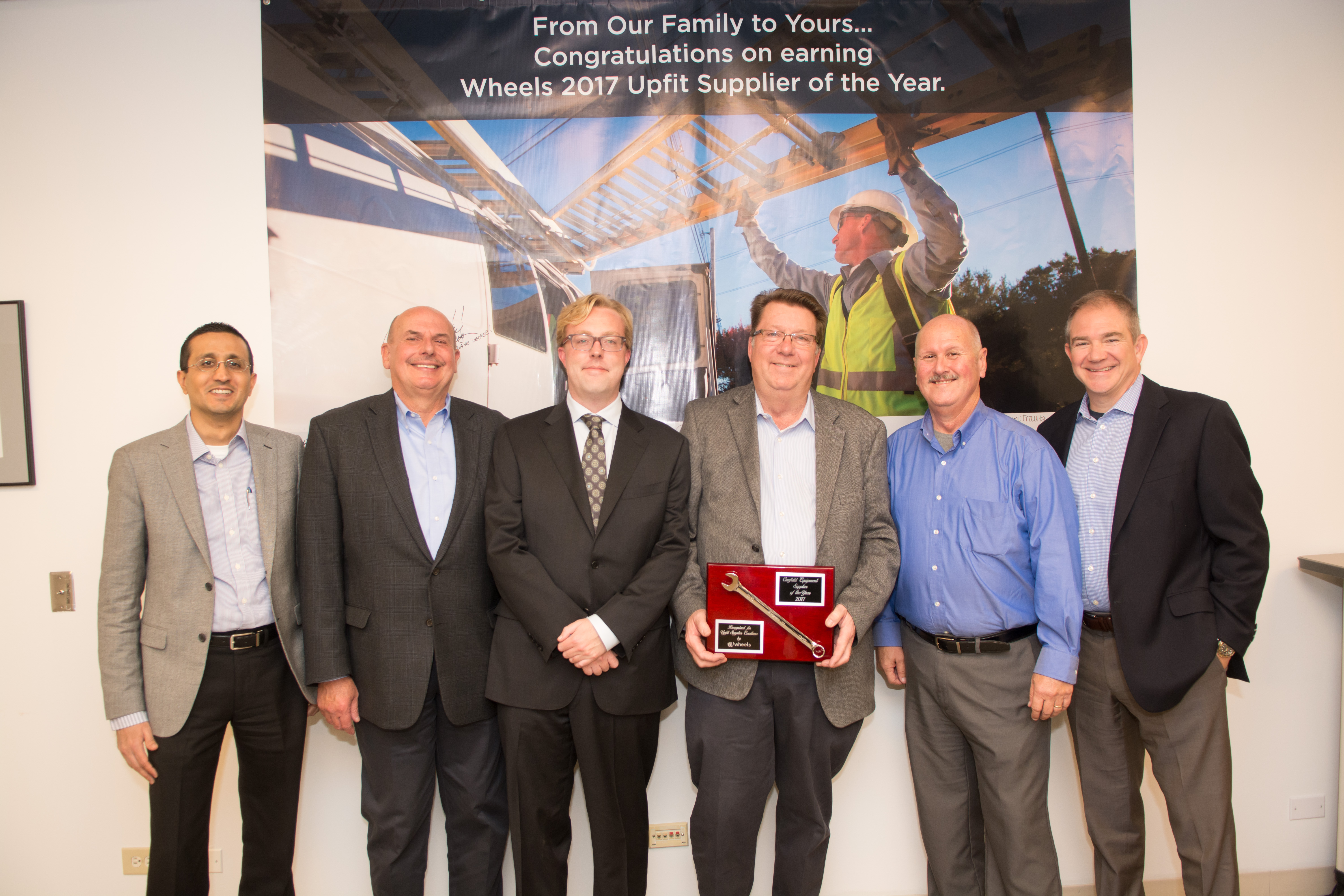 Wheels Recognizes Upfit Supplier of the Year