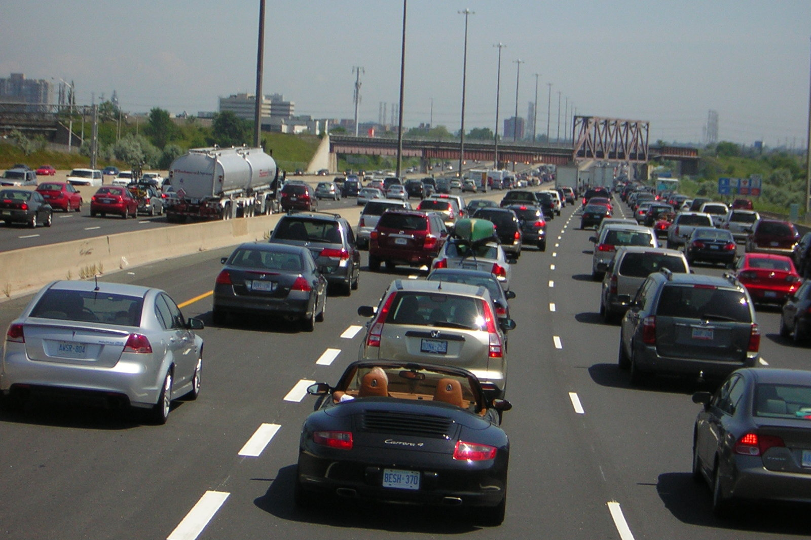 5 U.S. Cities Rank Among World's Most Traffic-Congested Areas