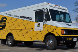 BMW's Hybrid Tech to Power Workhorse Delivery Trucks