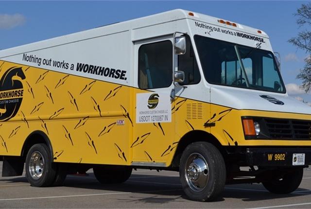 W.B. Mason Adds Workhorse Hybrid-Electric Step Van to Fleet