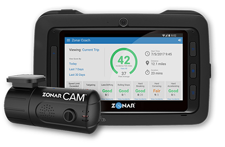 Zonar Coach Offers Real-Time In-Cab Coaching