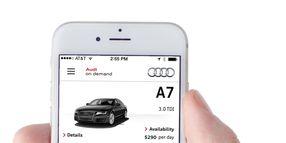 Audi Tests On Demand Car Sharing in San Francisco