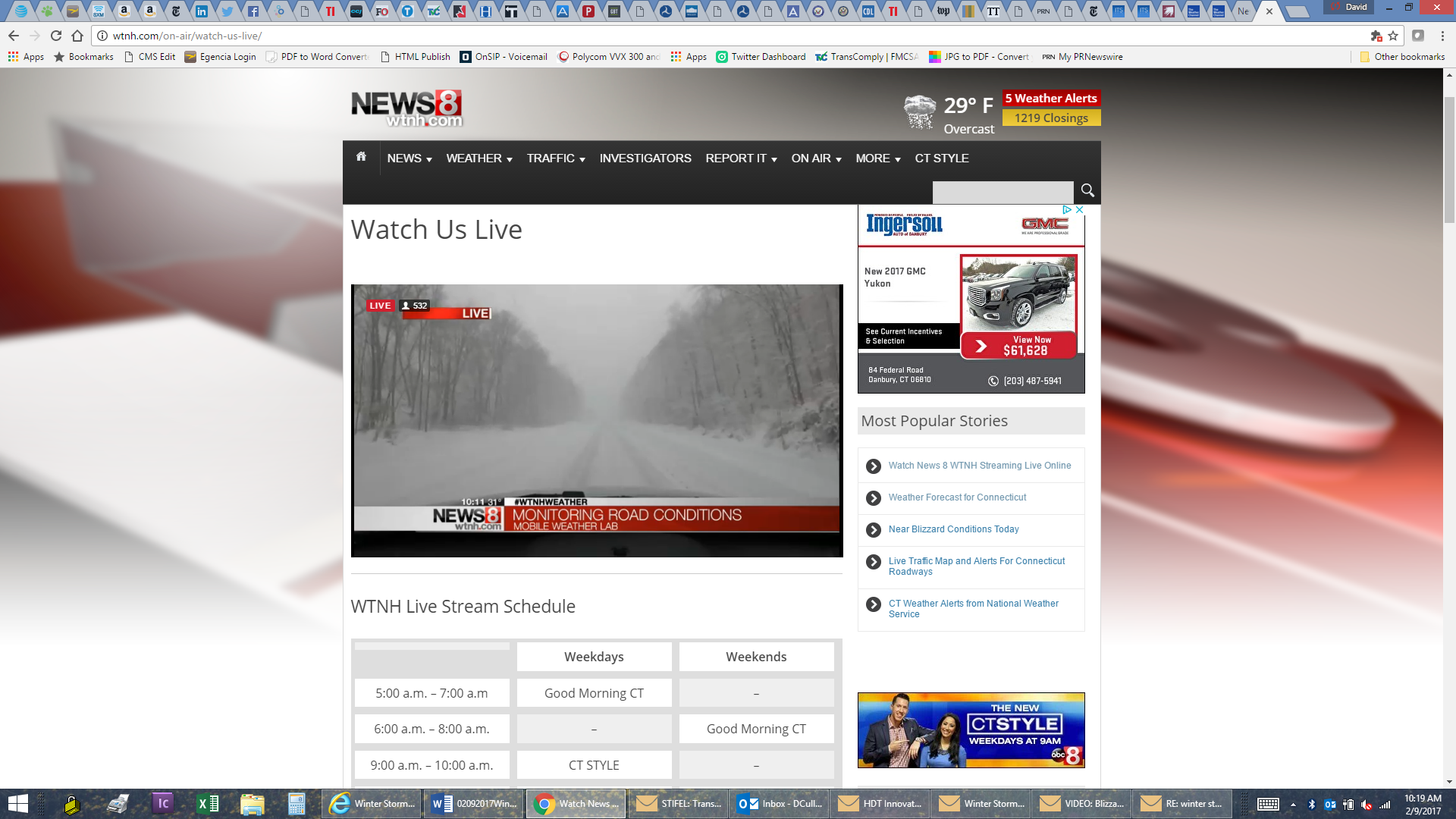Winter Storm Pounding Northeast