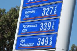 Gasoline Prices Rise Slightly