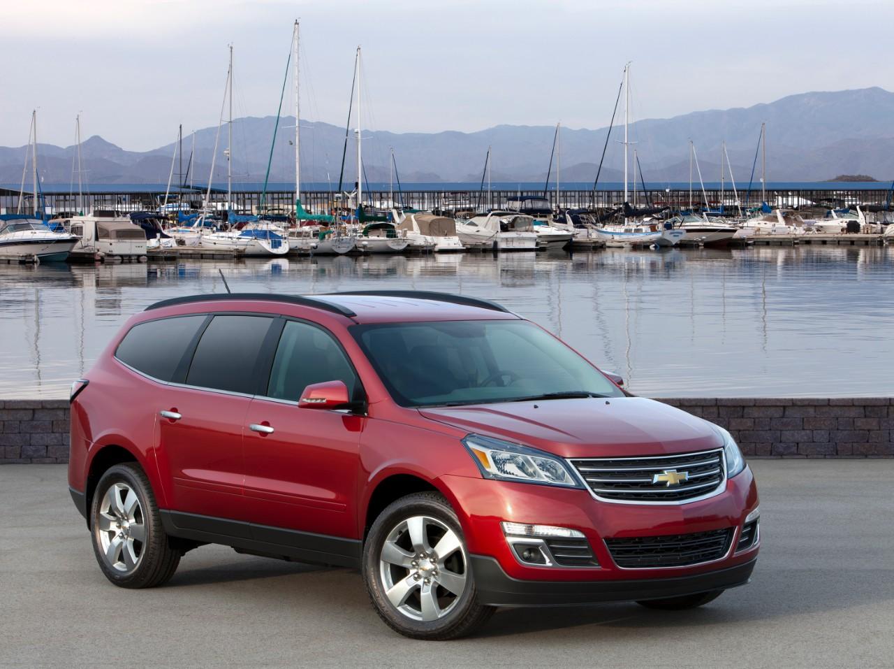GM Recalls Traverse, Acadia, Enclave