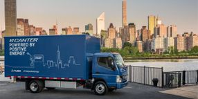 UPS to Test Mitsubishi Fuso's All-Electric Cabover