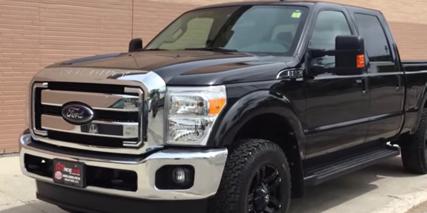 The Ford F-250 4WD is among the top 10 vehicles with the lowest overall losses, according to an...