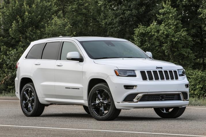 Jeep Grand Cherokees Recalled for Transmission Shift Interlock