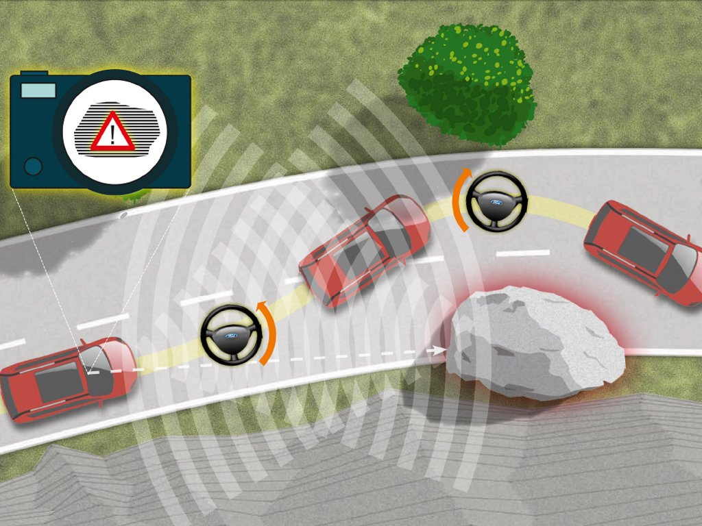 Ford Demonstrates Obstacle Avoidance Technology