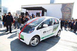 Mitsubishi Donates i-MiEVs to Mongolian Capital