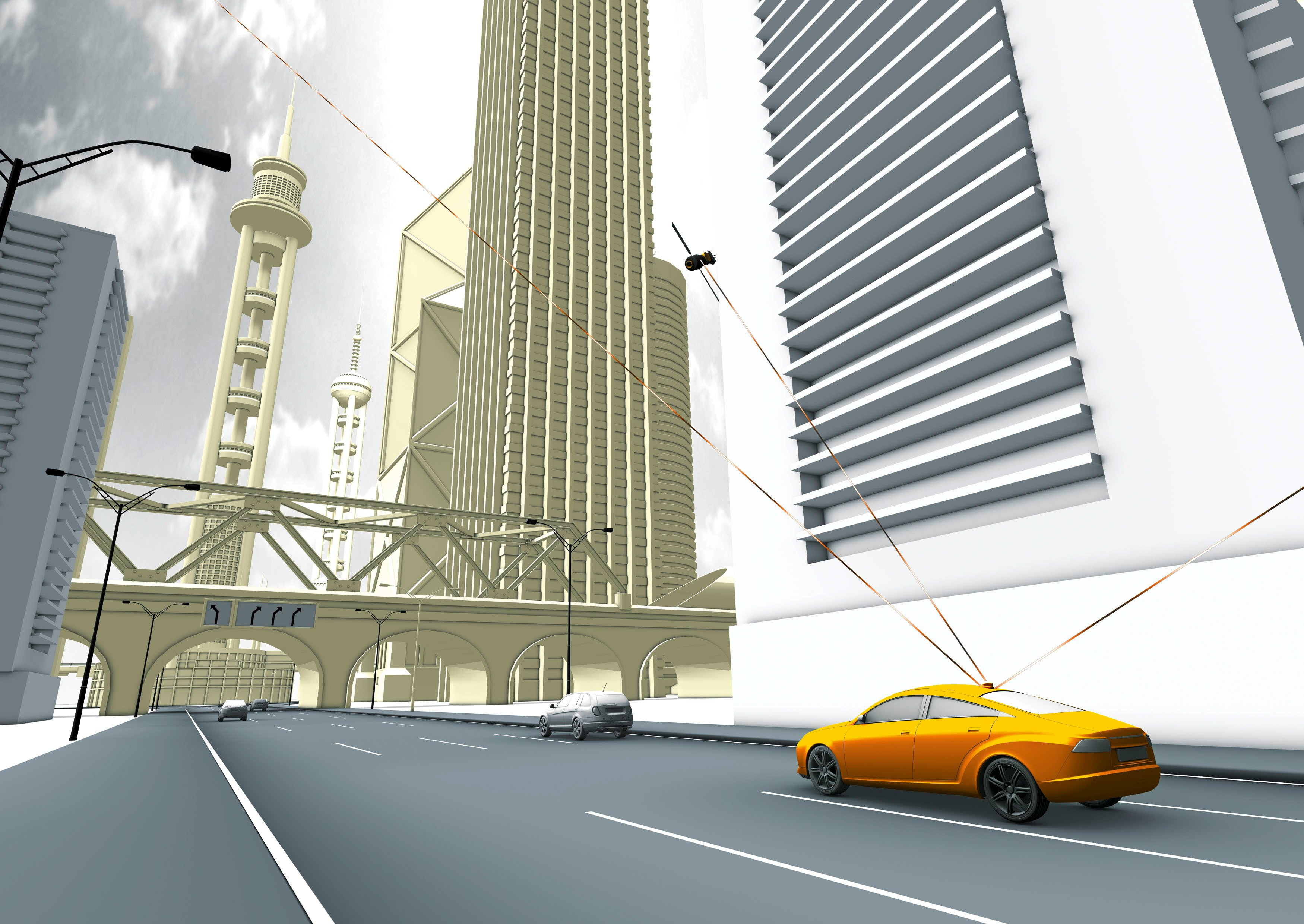 Daimler Test Fleet Exploring Potential of Car-to-X Communication