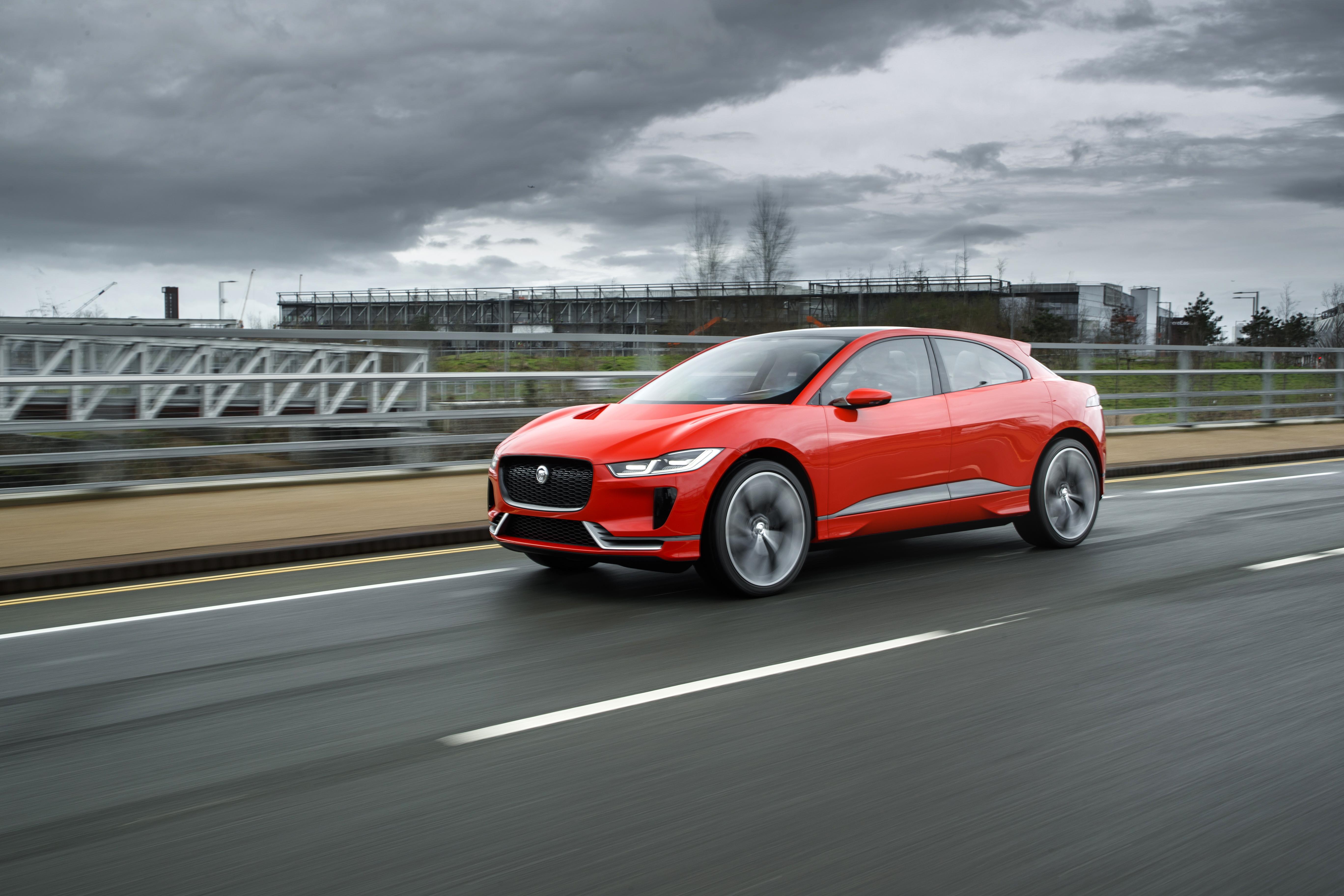 Jaguar Begins Testing I-Pace in London