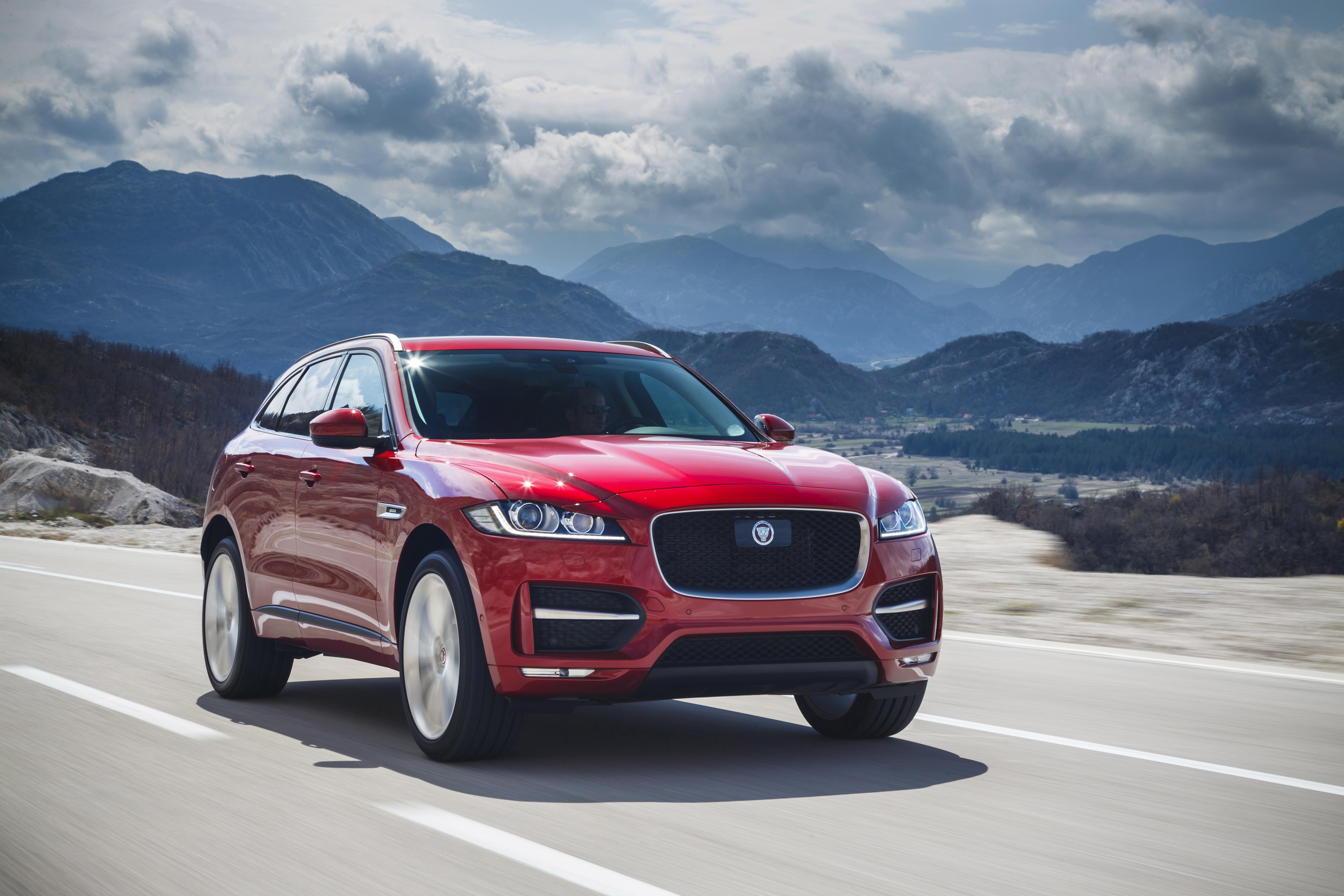 Jaguar F-Pace SUVs Recalled for Instrument Cluster
