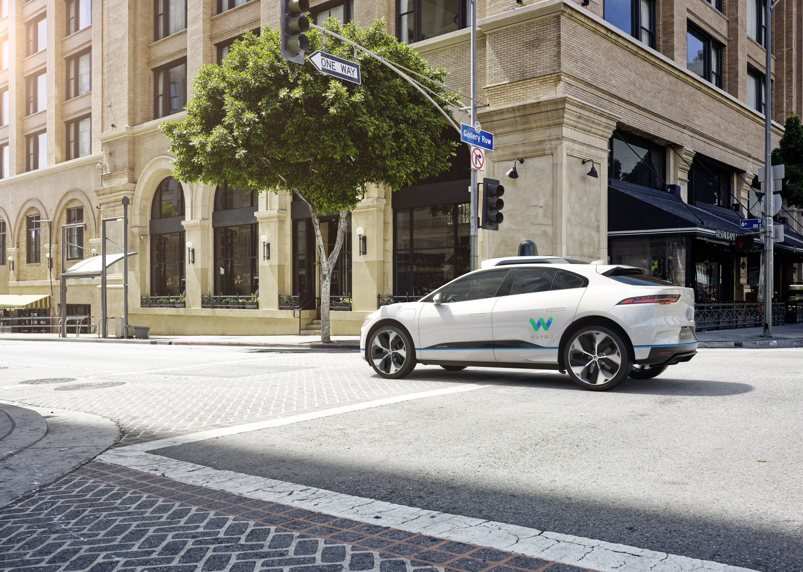 Jaguar Partners with Waymo to Develop Autonomous I-PACE