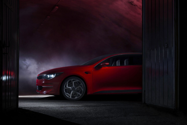 Kia Gives Glimpse of Next-Gen Optima Sedan