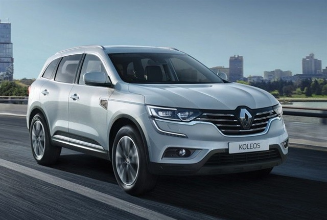 Photo of the Koleos courtesy of Renault.