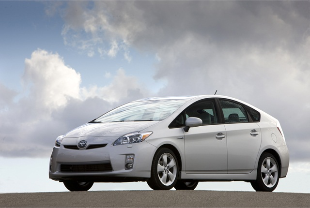 Photo of Prius courtesy of Toyota.