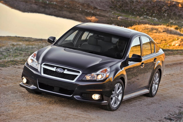 Photo of Subaru Legacy courtesy of Subaru.