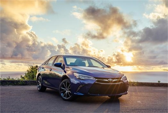 Photo of Toyota Camry courtesy of Toyota.