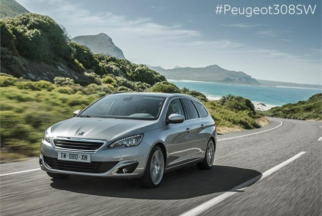 The Peugeot 308 (photo courtesy of Peugeot's Facebook page)