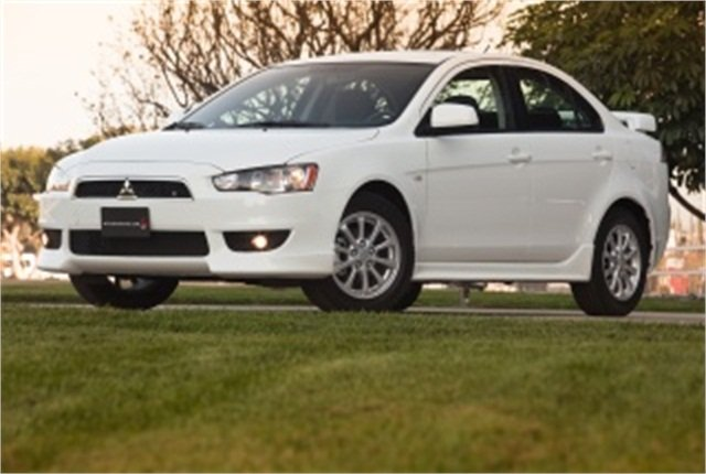 Photo of 2011 Lancer courtesy of Mitsubishi.