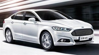 The Ford Mondeo were among the new vehicles introduced to the Chinese market in 2013.