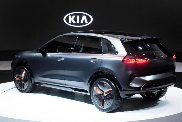Photo of the Niro EV Concept courtesy of Kia.