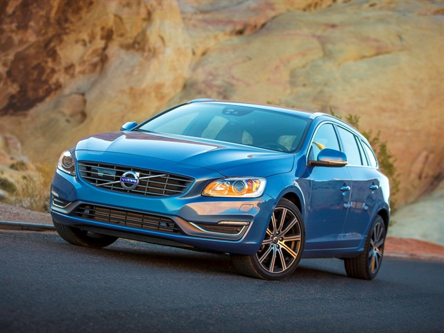 Photo of 2016 V60 courtesy of Volvo