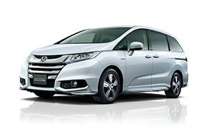 Photo of Odyseey Hybrid courtesy of Honda.