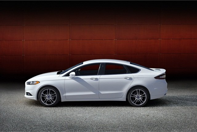Photo of 2014 Ford Fusion courtesy of Ford.