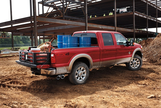 Photo of 2014 F-Series Super Duty courtesy of Ford.
