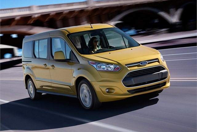 2014 Ford Transit Connect Wagon photo courtesy of Ford Motor Co.