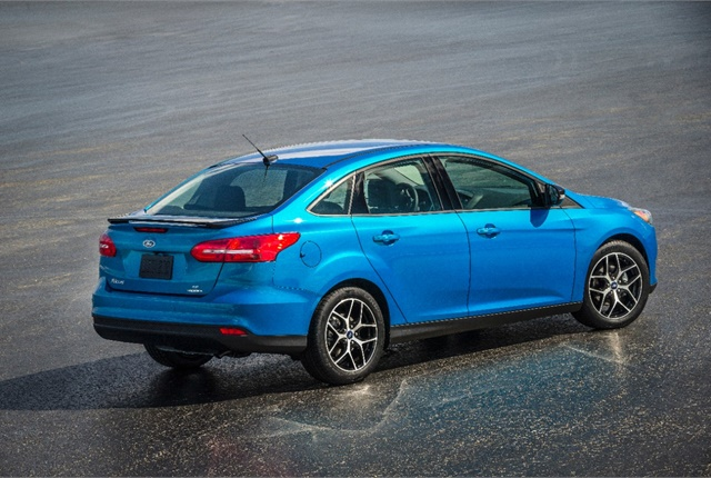 Photo of Ford Focus courtesy of Ford.