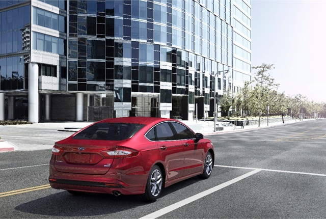Photo of 2015 Ford Fusion courtesy of Ford.