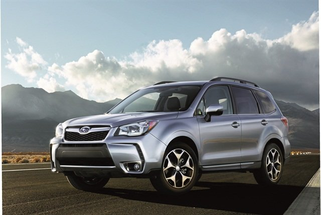 Photo of 2016 Forester courtesy of Subaru.