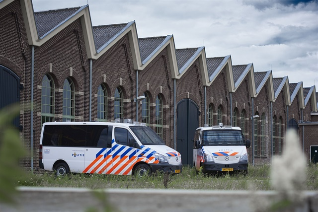 The Dutch Police have ordered 300 Mercedes-Benz Sprinter vans. Photo: Mercedes-Benz