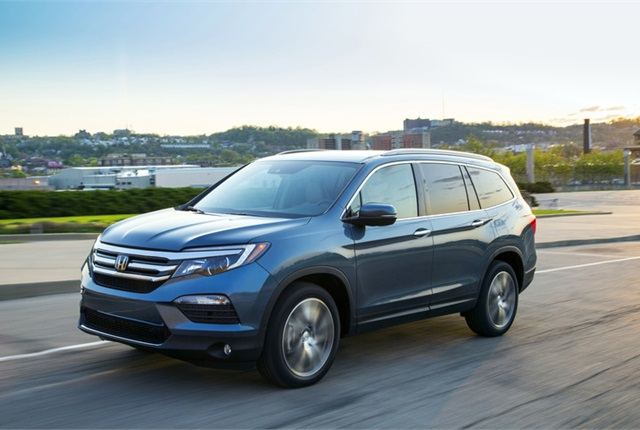 Photo of Honda Pilot courtesy of Honda.