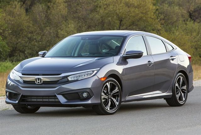 Photo of the Civic Sedan courtesy of Honda.