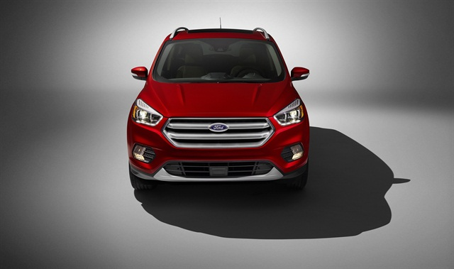 The 2017 Ford Escape Titanium trim, photo courtesy of the automaker.