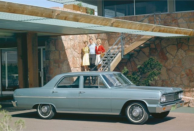 The Chevrolet Malibu debuted 50 years ago.