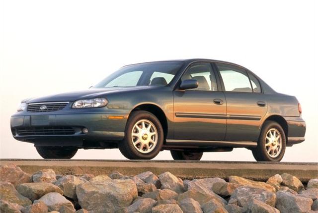 Photo of 1997-MY Malibu courtesy of GM.