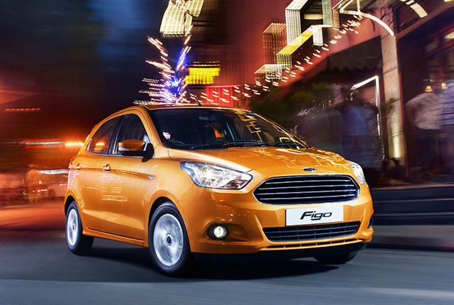 Photo of the Figo courtesy of Ford.