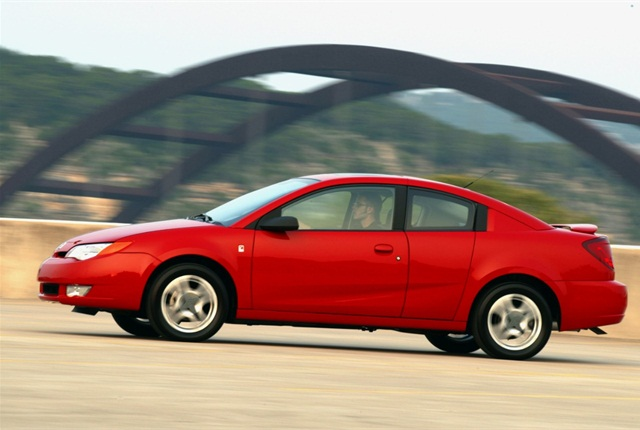 The 2004 Saturn Ion is included in GM's safety recall. Photo courtesy of General Motors.
