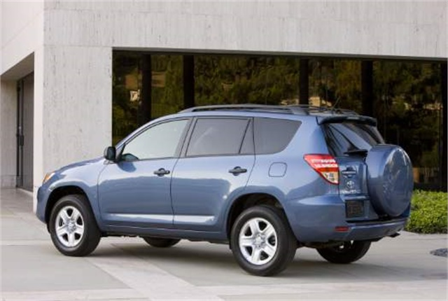 Photo of Toyota RAV4 courtesy of Toyota.
